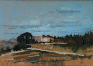 Galerie Montpellier | René Ferris: Domaine de montredon, st pons de mauchien
