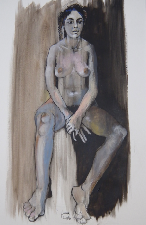 Galerie Montpellier | Oeuvres: Femme 1998