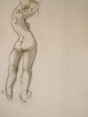 Galerie Montpellier | Pierre Lohner: Nu déhanché