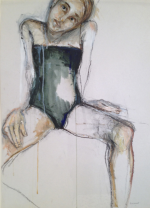 Galerie Montpellier | Elisa Cossonnet: Le justaucorps vert