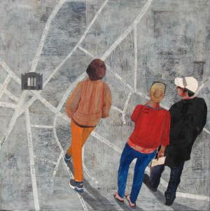 Galerie Montpellier | Rusiñol Masramon: Plan de Montpellier I