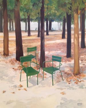 Galerie Montpellier | Bernard Calvet: Jardin des tuileries