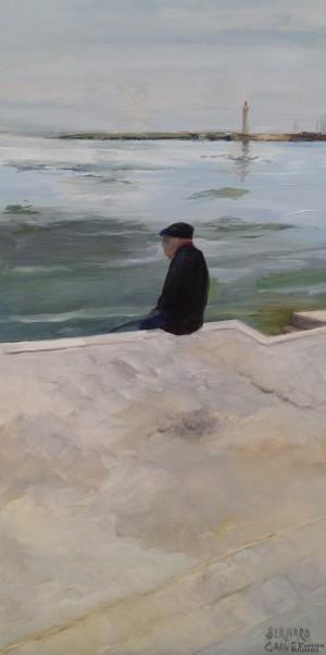 Galerie Montpellier | Bernard Calvet: Le pêcheur