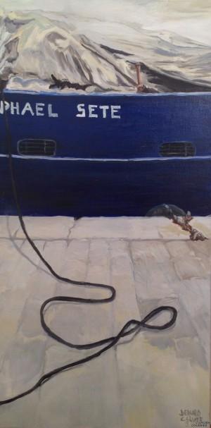 Galerie Montpellier | Bernard Calvet: Le chalutier