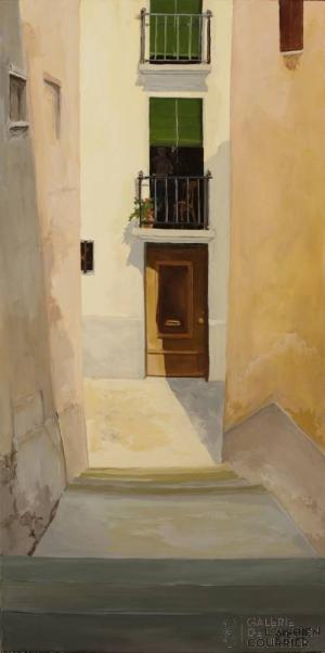 Galerie Montpellier | Bernard Calvet: Las escaleras