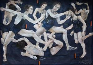 Galerie Montpellier | Elisa Cossonnet: Une danse bleue