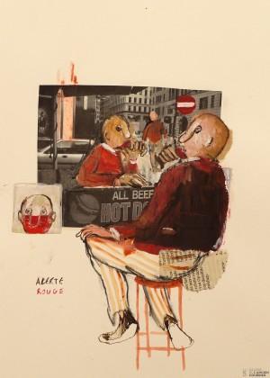 Galerie Montpellier | Elisa Cossonnet: Alerte rouge