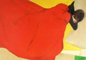 Somni en colors vermell