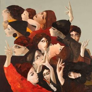 Galerie Montpellier | Accueil: Anneaux ronds et regards